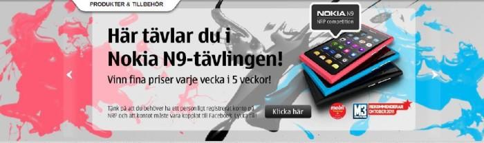 Webbtävling Nokia N9