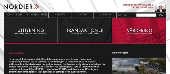 Nordier webb