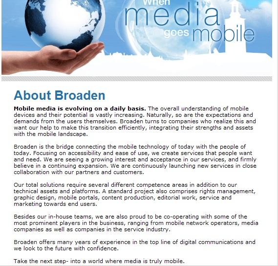 Broaden webb ENG
